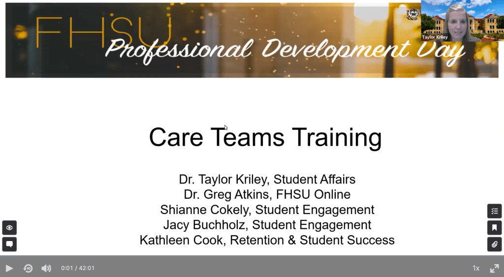Care Teams Training