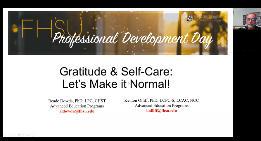 Gratitude & Self-Care: Let's Make It Normal