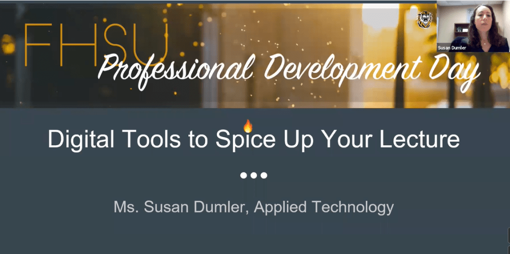 Digital Tools to Spice Up Your Lecture