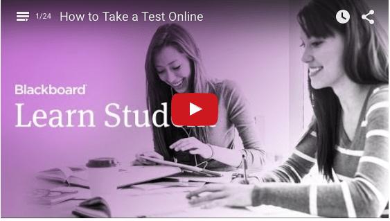 Blackboard Learn Student