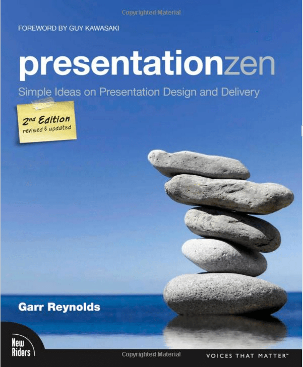 Presentation Zen: Simple Ideas on Presentation Design and Delivery (2nd Edition) Book Cover