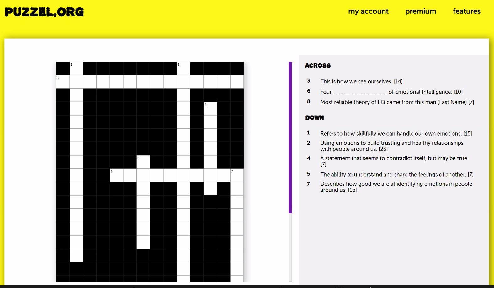 puzzle_crossword activity