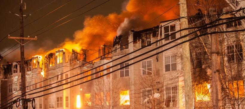 Edgewater NJ Complex Fire