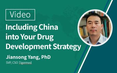 视频:Including China into Your Global Drug Development Strategy: Why, When and How?