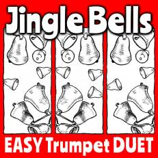 Jingle Bells for Trumpet Duet