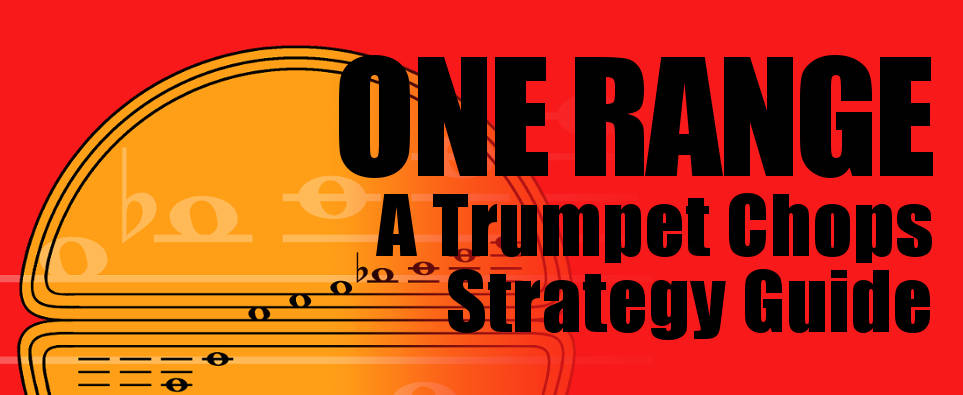One Range trumpet range development book