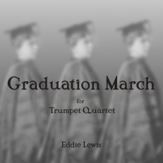 Graduation March song trumpet quartet sheet music pdf
