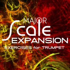 Major Scale Expansion Studies Trumpet Scales