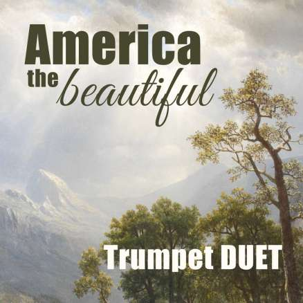 America the Beautiful Trumpet Duet Sheet Music PDF