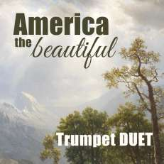 America the Beautiful Trumpet Duet Sheet Music PDF