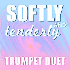 Softly and Tenderly Trumpet Duet Sheet Music PDF