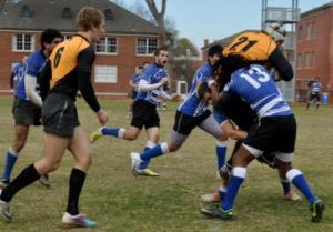Cameron and Josiah Shipley gang tackle