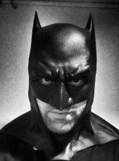 Gaël M. Minne with Tiger Stone FX Batman v Superman Dawn Of Justice cowl