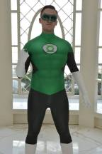 Jewbacca Cosplay with Tiger Stone FX Hal Jordan Green Lantern mask - Photo by Myratheon Cosplay