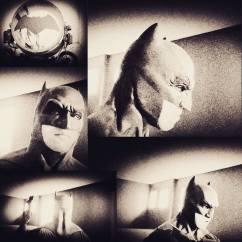 Jose Tormos with Tiger Stone FX Batman v Superman Dawn Of Justice cowl
