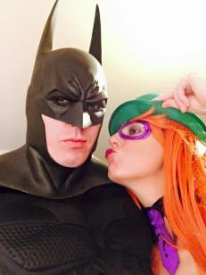 Lee Doran with Tiger Stone FX Batman Arkham Asylum City cowl