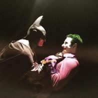 Séan Coyne with Tiger Stone FX Batman Arkham Asylum City cowl