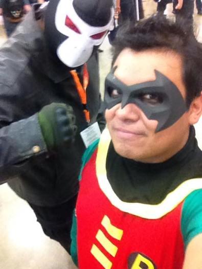 Tony Ambriz with Tiger Stone FX Nightwing mask