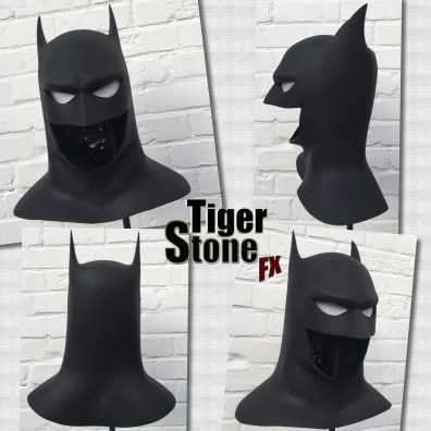 Batman The Animated Series BTAS cowl by Tiger Stone FX