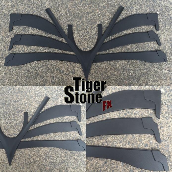 The Dark Knight / Rises neck armor piece by Tiger Stone FX