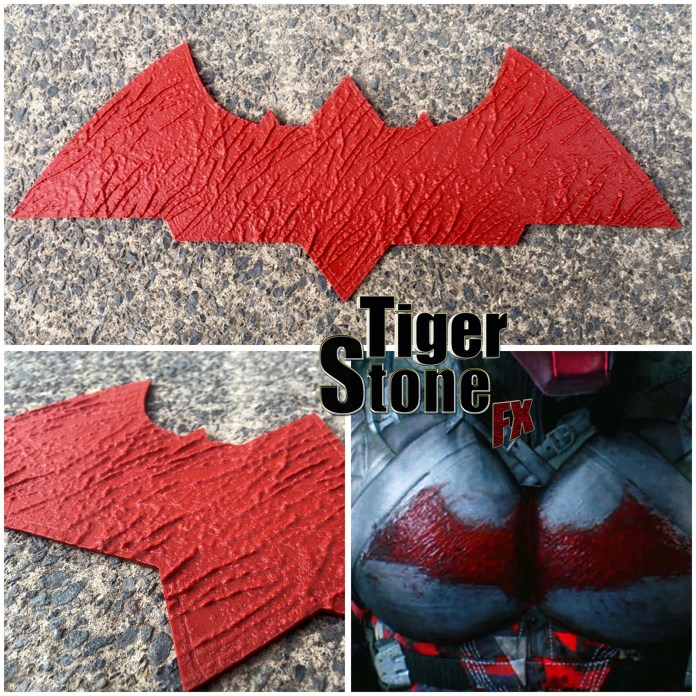 Arkham Knight - Red Hood Chest emblem - by Tiger Stone FX
