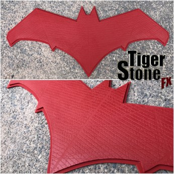 Batman v Superman inspired Red Hood chest emblem for your cospla costume - by Tiger Stone FX