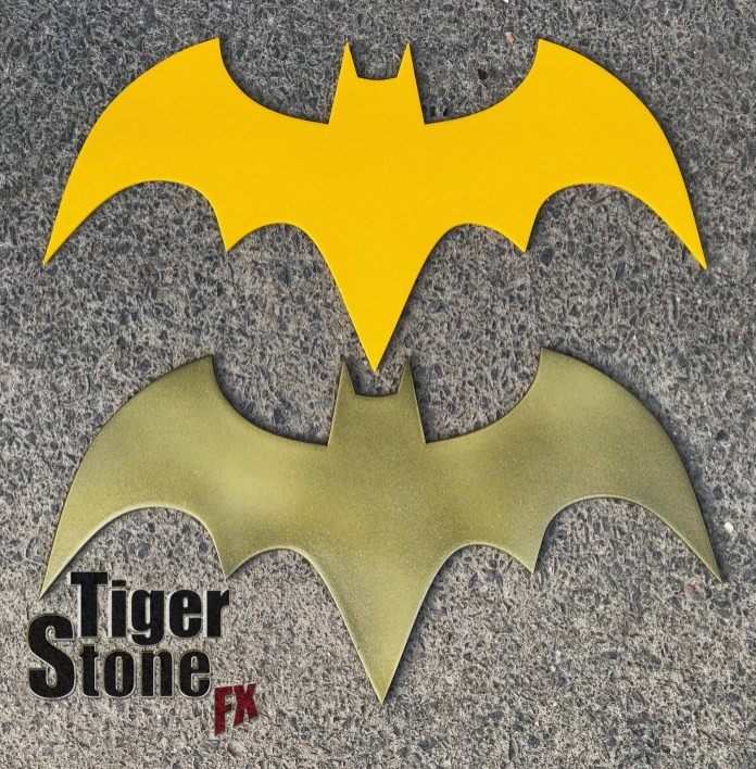 Batgirl comic inspired chest emblem by tiger stone fx