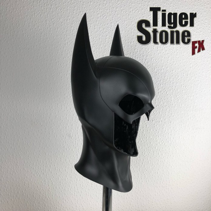 Batgirl cowl made by Tiger Stone FX