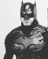 Matt Smith with Tiger Stone FX Rebirth Batman cowl