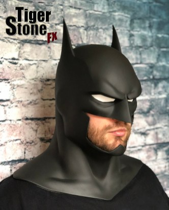 Justice League War Batman cowl (animated movie cowl) Batman Bad Blood -- made by Tiger Stone FX