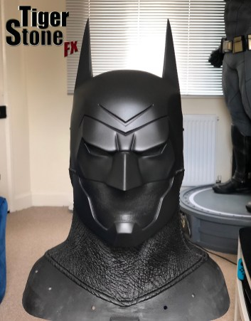 Batman Ninja cowl - ready to mold - by Tiger Stone FX