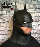 Batman Ninja cowl mask for your cosplay costume (front side) - made by Tiger Stone FX
