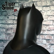 Capullo Batman cowl New 52 Rebirth Metal (back) - made by Tiger Stone FX