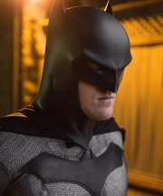Capullo Batman cowl for your new 52 cosplay by Tiger Stone FX worn by the Little Rock Batman photo by @brad.fugere