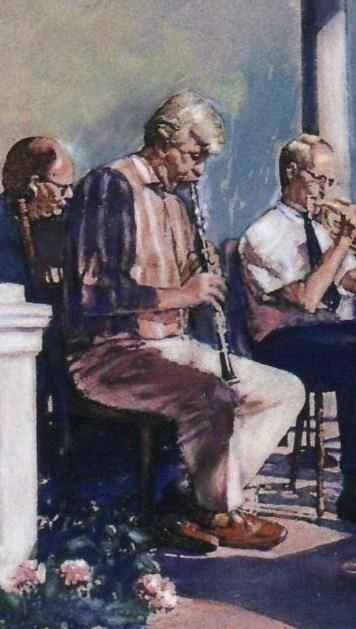Jazz Gazebo - details