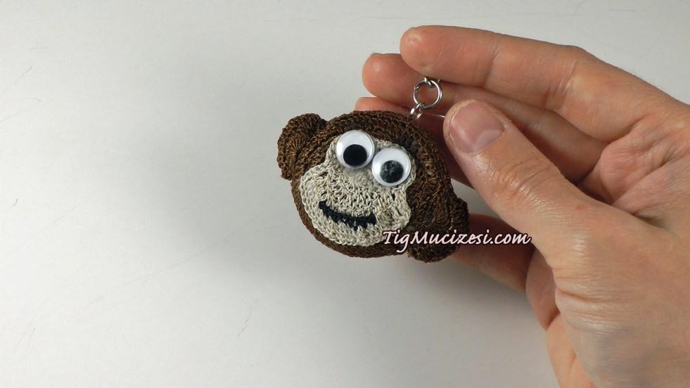 maymun anahtarlık
