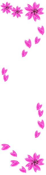 バナー広告のフリー素材:大人可愛いピンクの桜の飾り枠。ネットショップのwebデザインに。(160×600pix)