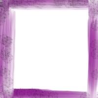 Web制作,Webデザイン,ネットショップ運営のアイコンのフリー素材:ガーリーな紫の油彩風のフレーム素材