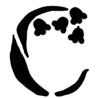 大人可愛いアイコン(twitter)のフリー素材:芥子色の小花;200×200pix