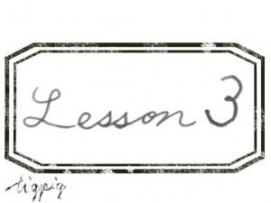 大人可愛いHP制作に使える手描き文字のLesson3とスタンプ風ラベルのフリー素材