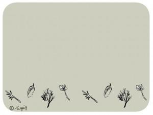 プラットデザインにも合うどんぐりと葉っぱいっぱいのイラストのフリー素材:640×480pix