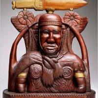 Esculturas de madera de personas