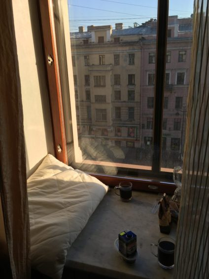 where to stay in St Petersburg Russia - hostel wings
