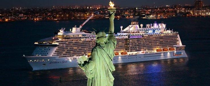 largest cruise ships anthem