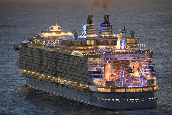largest cruise ships allure