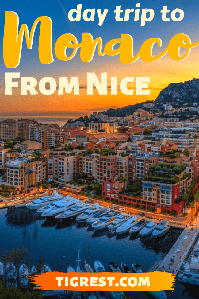 Monaco day trip from Nice France