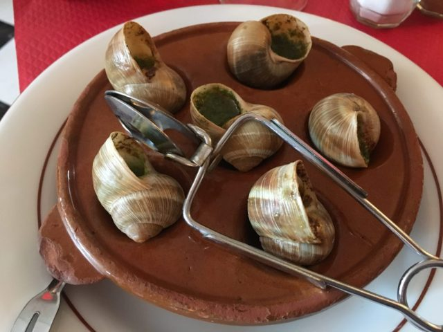 escargot snails