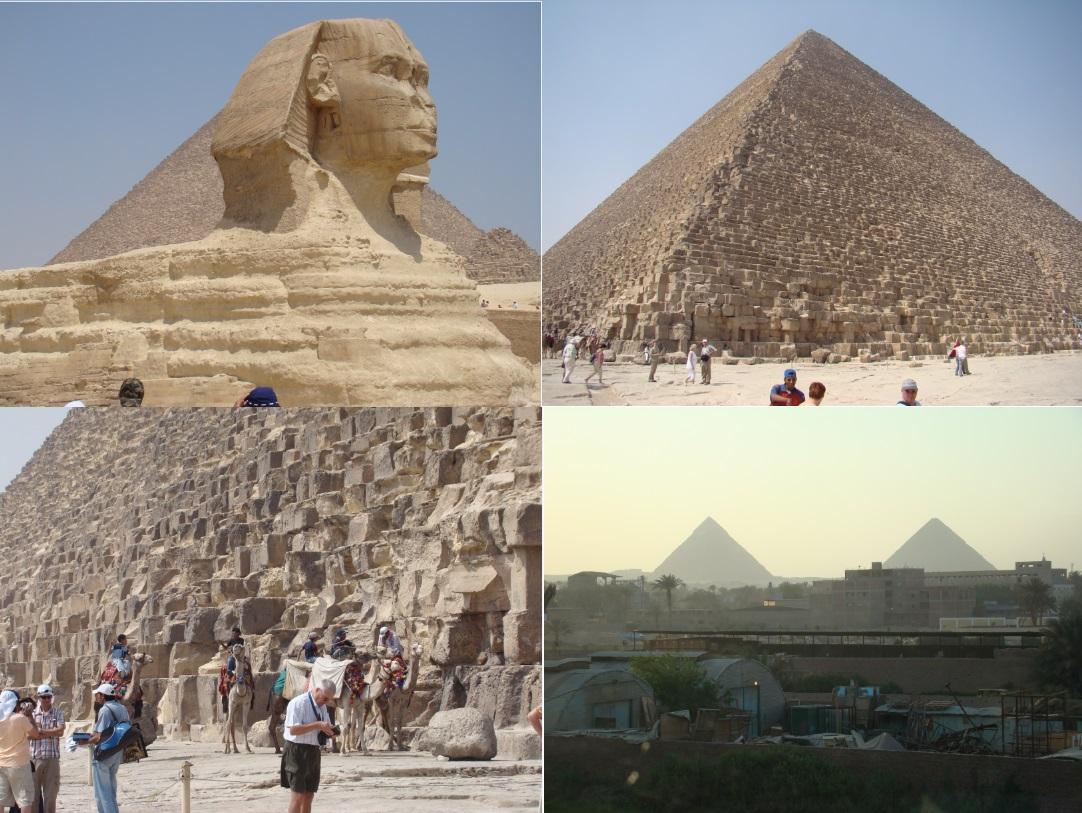 cairo egypt - giza pyramids