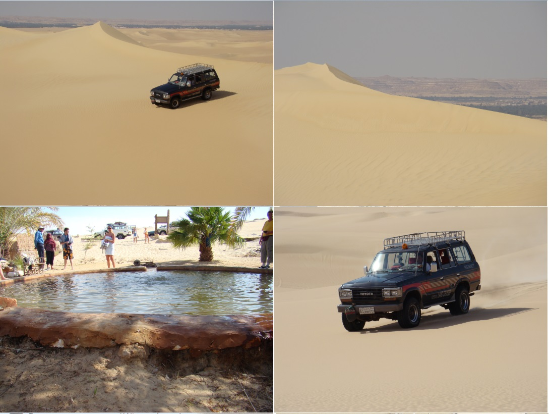 jeep safari in sahara desert