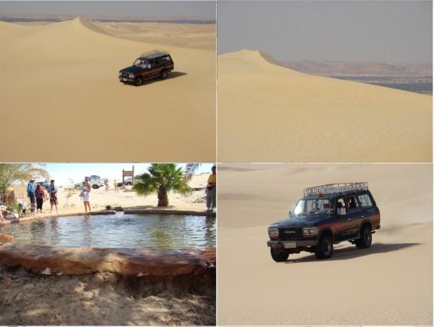 jeep safari in sahara desert